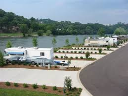Two Rivers Landing RV Resort Is A New Luxury Nestled Along The Banks Of Beautiful French Broad River Located In Peaceful Green Valley