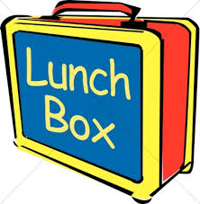 Box Lunchbox Clipart Lunch Break Sign
