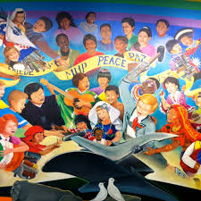 Denver International Airport Murals New World Order by Denver Airport Conspiracy The Sarvases