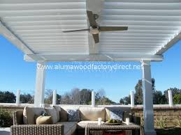 Louvered Patio Covers San Diego by Equinox Louvered Roof System Patio Cover Alumawood Factory