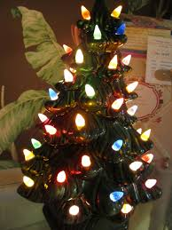 Replacement Light Bulbs For Ceramic Christmas Tree by Ceramic Christmas Tree With Lights Ceramic Christmas Tree With