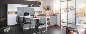 cuisine moderne en u aménagement de cuisine en u mobalpa