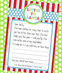 Amanda s Parties To Go FREEBIE} Letter To Santa Printable