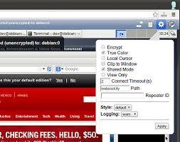 comment accéder à vnc bureau à distance dans le navigateur web
