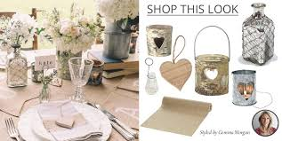 Rustic Barn Wedding Decorations Shop This Look