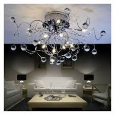 Modern Crystal Chandelier With 11 Lights Ceiling Light Dining Room Living