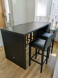 hochtisch esstisch bartisch mit 6 barhocker esszimmer