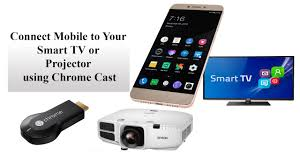 How to Connect Mobile to Your Smart TV or Projector using Chrome Cast