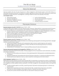 Resume For Administrative Assistant Office Page1