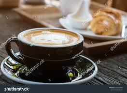 Cat Face Design Latte Art Coffee Stock Photo Royalty Free 1023869080