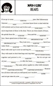 Halloween Mad Libs For 3rd Grade by Image Result For Most Popular Mad Libs For Teens Mad Libs