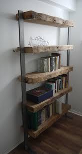 Furniture Home Rare Reclaimed Wood Bookcase Image Concept Shelf Unit By Ticicno Design Www Ticinodesign