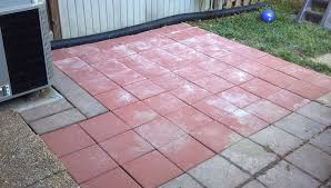 Installing 12x12 Patio Pavers by Home Depot Patio Pavers Installation Home Design Ideas
