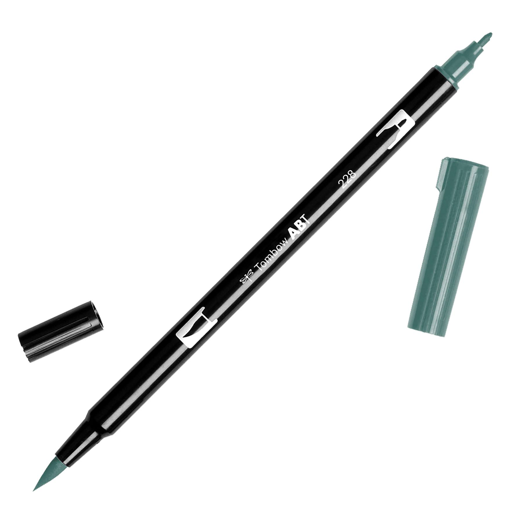 Tombow Dual Brush Pen - 228 Grey Green
