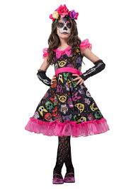 Easy Sugar Skull Day Of by Sugar Skull Costume Dress Diy Diy Do It Your Self