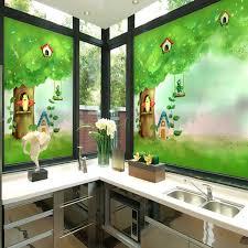 fenster aufkleber balkon fensterbank küche schlafzimmer translucent opaque kinder wintergarten badezimmer dekoration glas paste 103