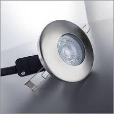 3x led einbaustrahler badezimmer dimmbar ip44 decken spot gu10