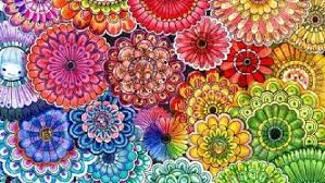Johanna Basfords Secret Garden Book Includes Intricate Floral Pattern Which This Fan Adorned In Colour PHOTO Facebook