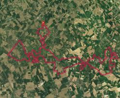 trace de trail mont des cats mont noir westouter