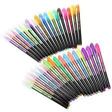 36 Colors Gel Pen Set Adult Coloring Book Ink Pens Drawing Painting Art School Supplies