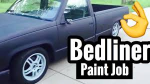100 Bed Liner Whole Truck Silverado Liner Paint Job Raptor Spray YouTube
