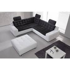 canapé gris et blanc pas cher canapé d angle design blanc et gris pas cher