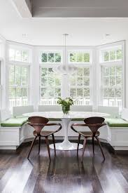 Boston Breakfast Tables Ikea With Transitional Curtain Rods Dining Room And Saarinen Table