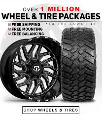 100 Truck Rims And Tires Packages Custom Offsets