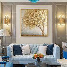 gold und schwarz weiß leinwand wand kunst moderne wohnzimmer schlafzimmer decor leinwand 100 handarbeit dekoration bilder kein rahmen