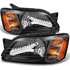 subaru replacement headlight assembly 1 pair automotive