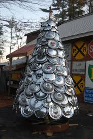 Chicago Christmas Tree Recycling by Recycle Repurpose Rejoice With Eco Clever Christmas Trees