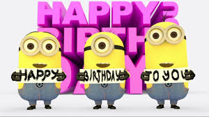 Funny Minions sing Happy Birthday Song 3D Animation