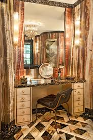 Master Bathroom Vanity With Makeup Area by 6