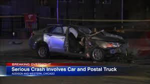 100 Usps Truck Driving Jobs Driver Injured After Running Red Light Hitting USPS Semi Truck