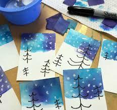 Bleeding Tissue Paper Skies
