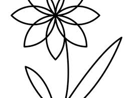 Flower Coloring Pages Hellokidscom