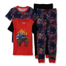 100 Monster Truck Pajamas Imagine Boys 2Pairs