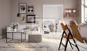 kleines altbau apartment kleine schwedische vintage wohnung bilder myloview