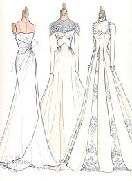 Contemporary Dress Designer Sketch A B S Evening Dresses Sketches