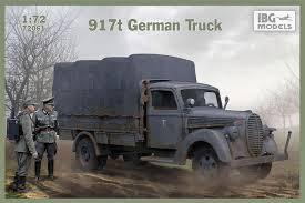 917t German Truck, IBG Models 72061 (2018)