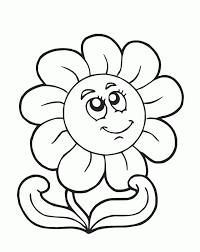 Spring Day Coloring Pages Best Flowers For Kids