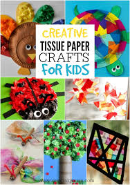 Put All That Leftover Tissue Paper From Parties To Use With These Crafts For