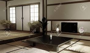 100 Living Room Table Modern Interior Designmodern Living Room With Table On Tatami Mat Floor