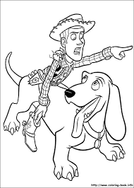 16 Toy Story Woody Coloring Pages 6926 Via Book
