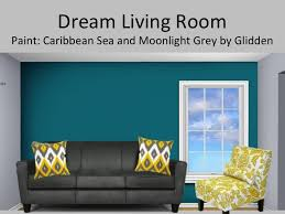 teal accent wall in living room search reception area