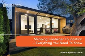 100 Foundation For Shipping Container Home SimpleTerra Blog Page 3 Of 3 SimpleTerra