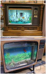 Homemade Lava Lamp Fish Tank by Convert An Old Tv Into A Fish Tank Fish Tanks Fish And Tvs
