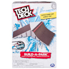 Amazon Tech Deck Scooter by Amazon Com Tech Deck Build A Park Launch To Quarter Pipe
