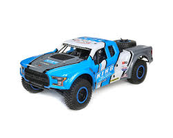 100 Losi Trucks Baja Rey Ford Raptor 110 RTR 4WD Brushless Desert Truck King