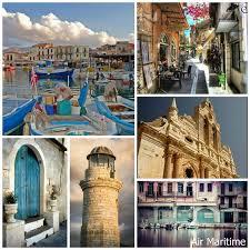 Rethymnon Crete Island Greece